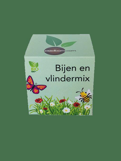 Zaadkubus Bijen- en vlindermix